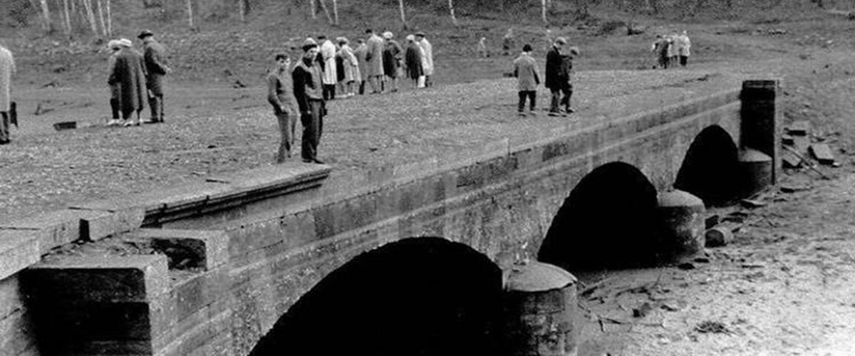 Březovská přehrada - most