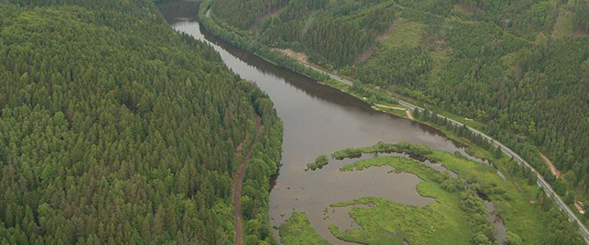 Březovská přehrada
